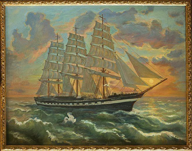 Крузенштерн рисунок