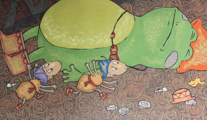 Картинки к сказке лягушка и муравей погиб, девушка