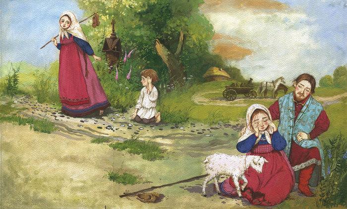 иллюстрации к сказкам сестрица аленушка методы представляют