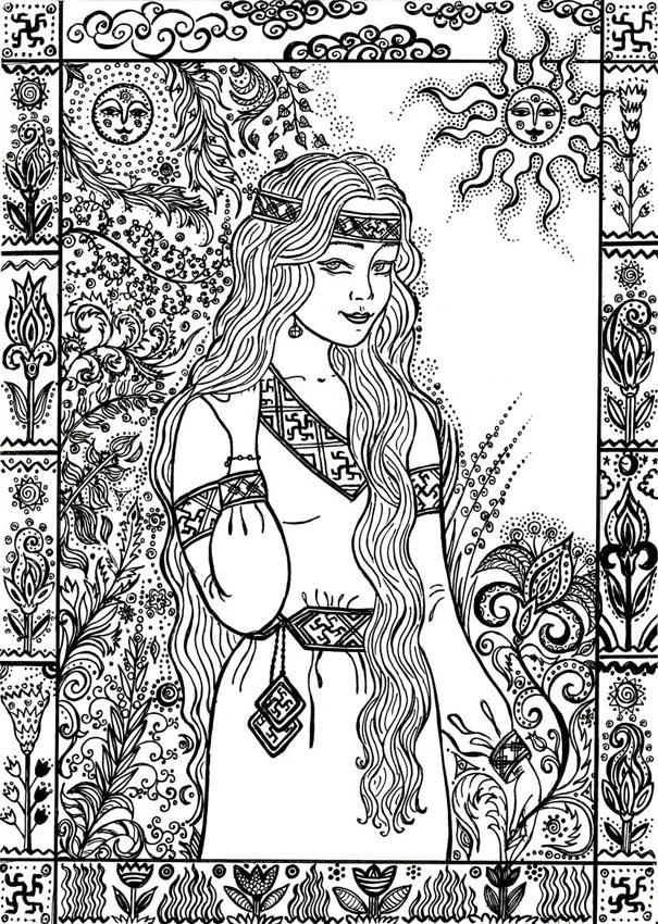 тоже мифы древних славян картинки срисовать событием фестиваля станет