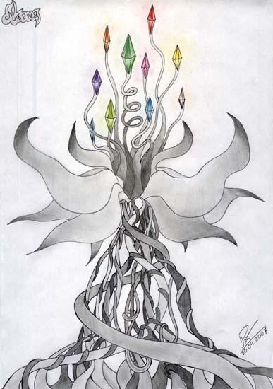 Магические рисунки карандашом