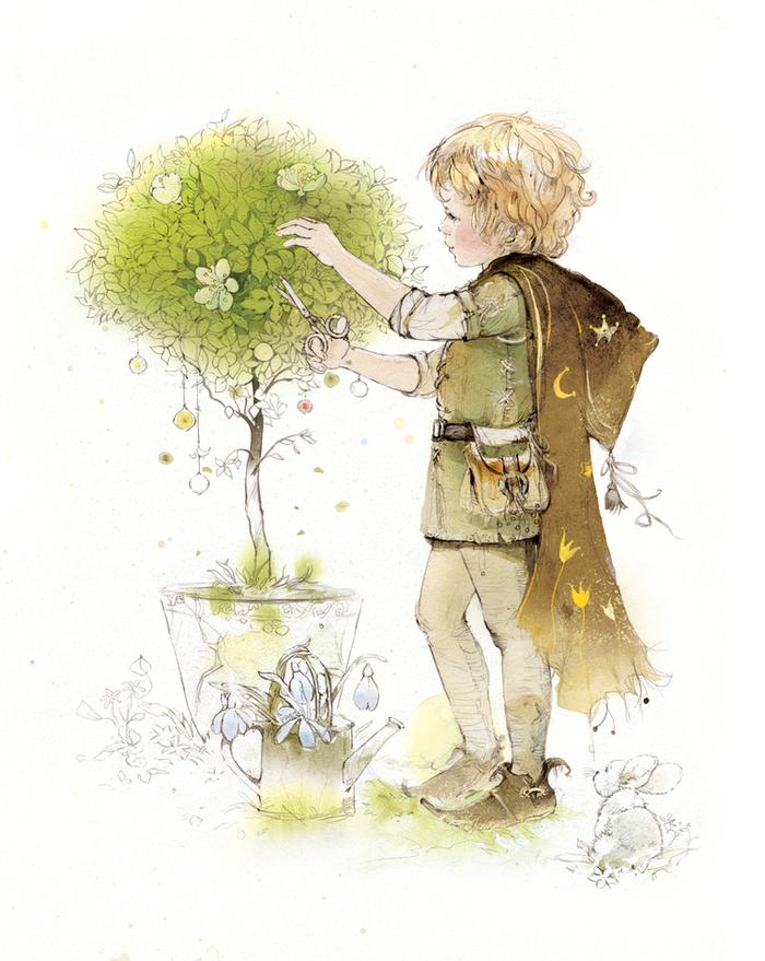 Открытки садовников, картинка
