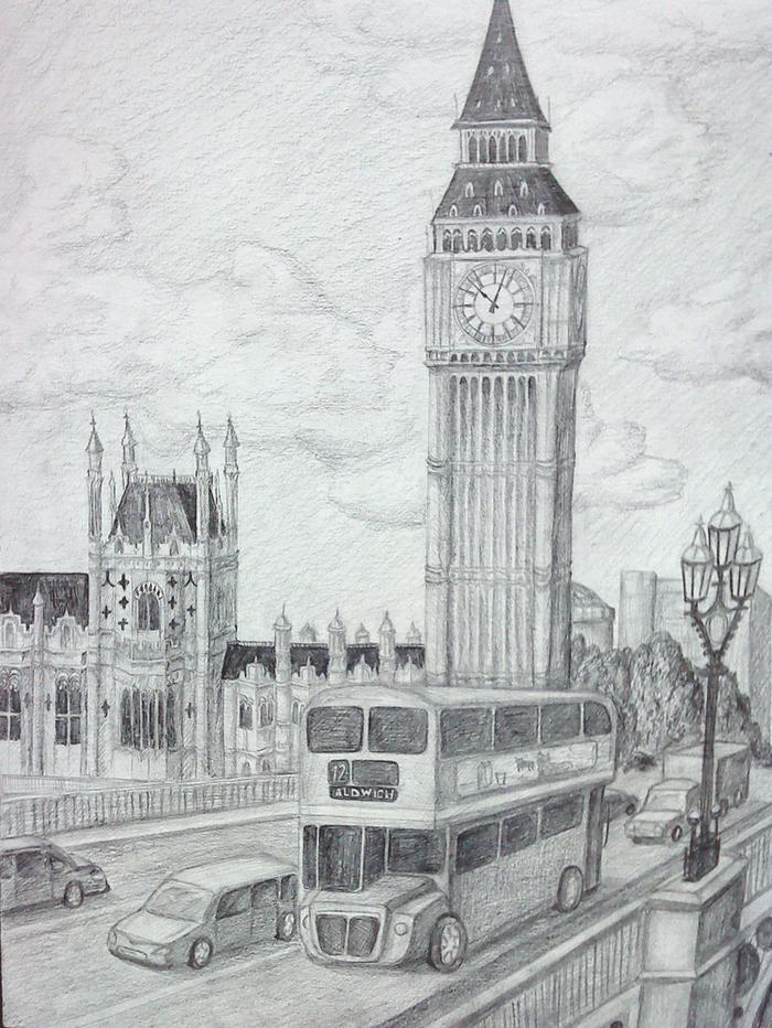 моллюск лондон рисунки легкие встань правой
