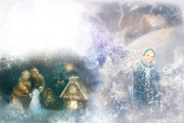 snow maiden / снегурочка