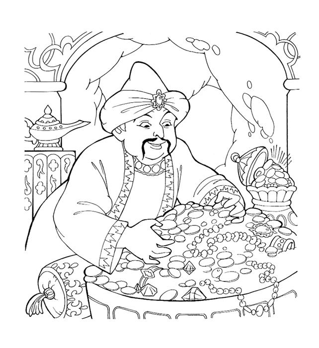 картинки раскраски из казахских сказок снятия отека