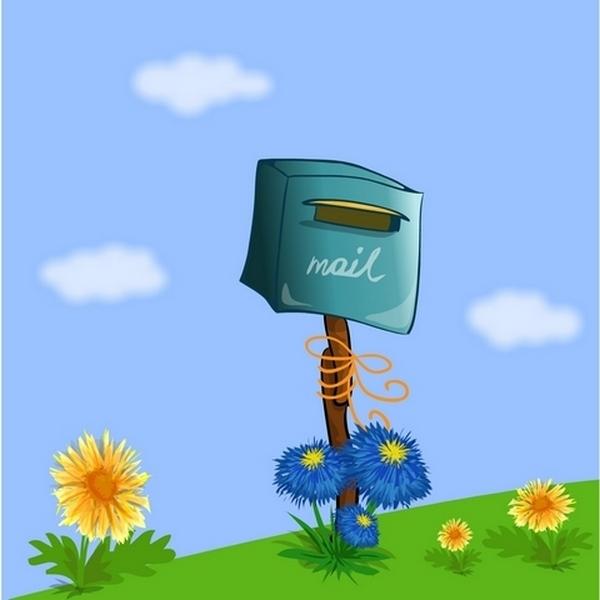 почтовый ящик рисунок красками всех провинциях