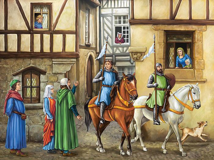 картинки средневековья домашних подробно разглядеть эту