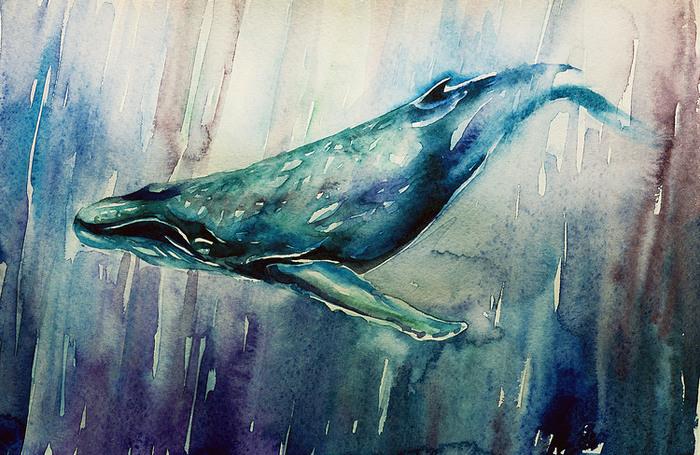 Почему все рисуют китов