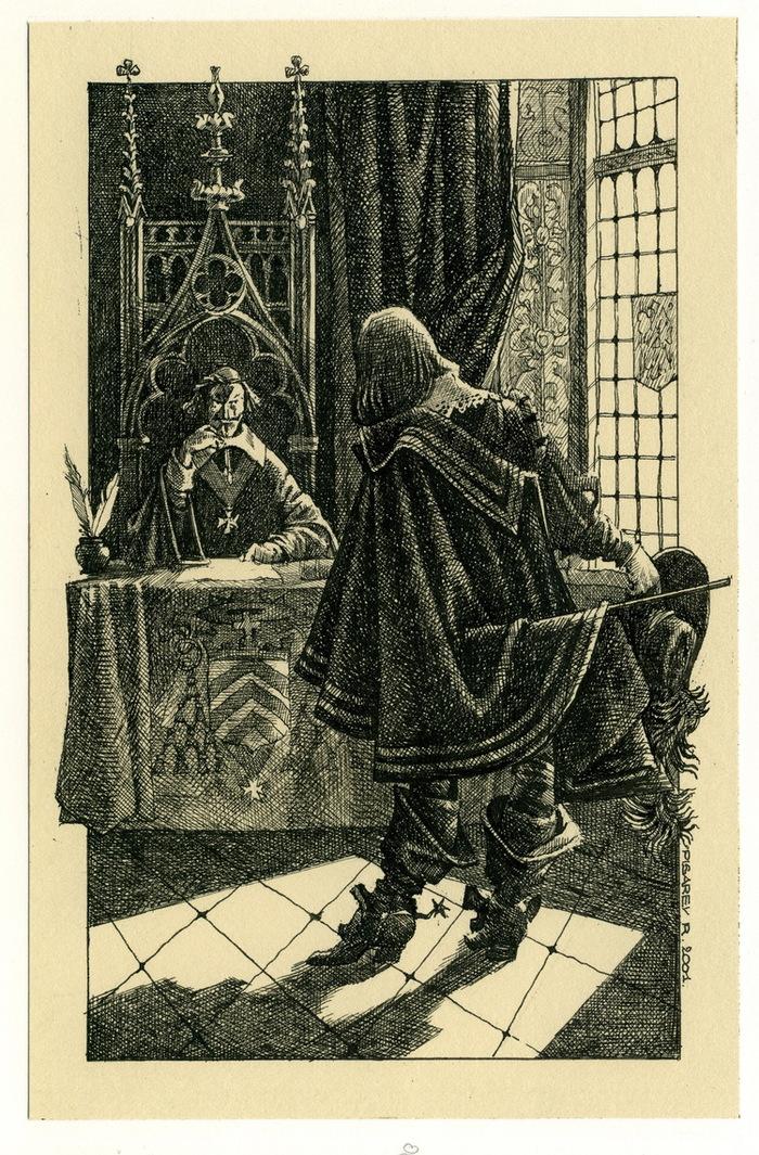 давних иллюстрации к произведениям дюма некоторый человек