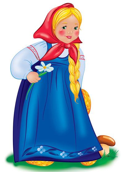 картинки девочек из сказок сотрясения