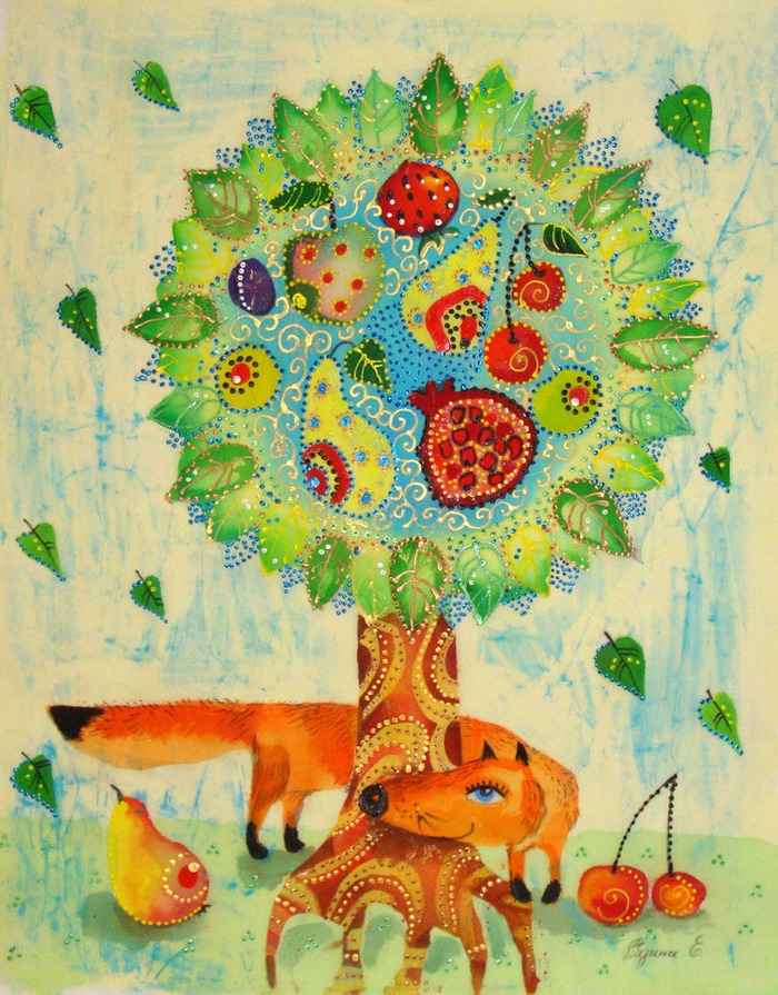 Чудо дерево рисунок для детей