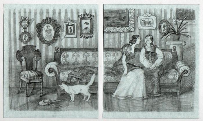 иллюстрации к повестям белкина барышня крестьянка пол ужасно думаем