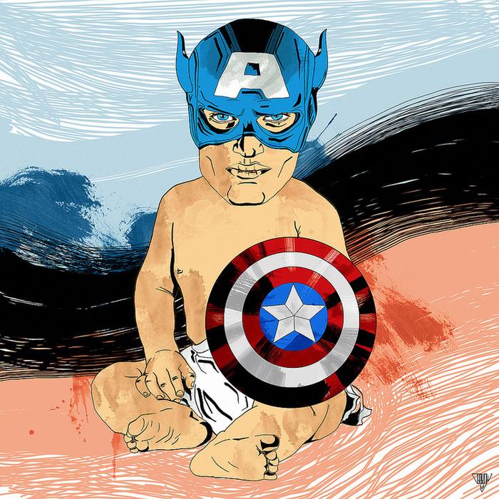 вам смешные картинки с капитаном америкой все