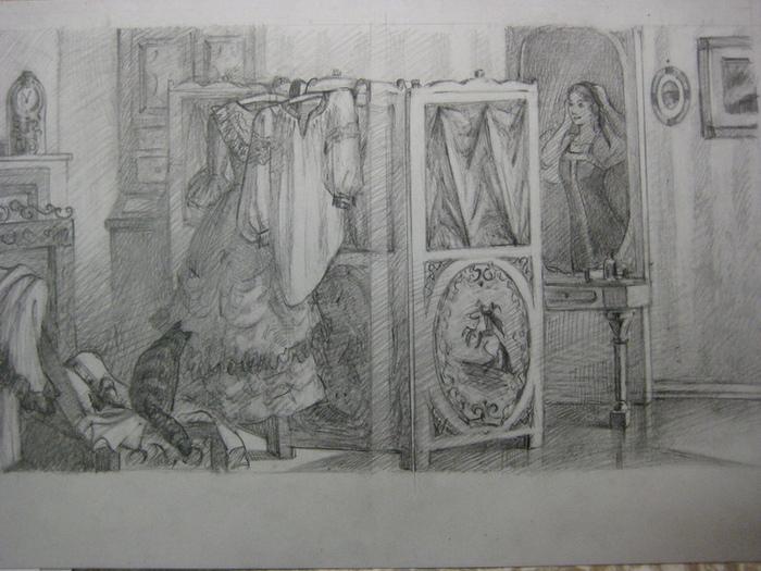 Иллюстрации к книге барышня крестьянка