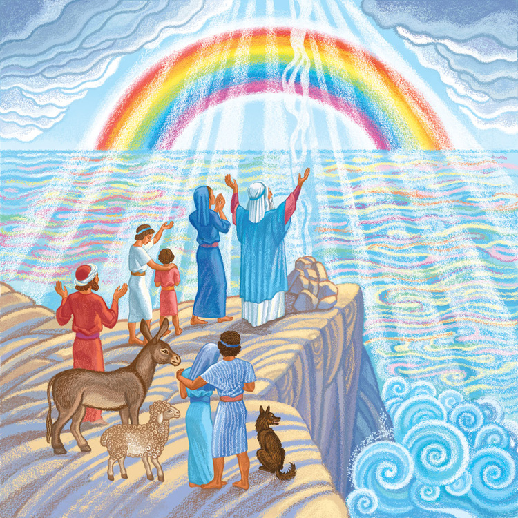 Теги иллюстрация детская библия