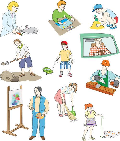 профессии картинки: