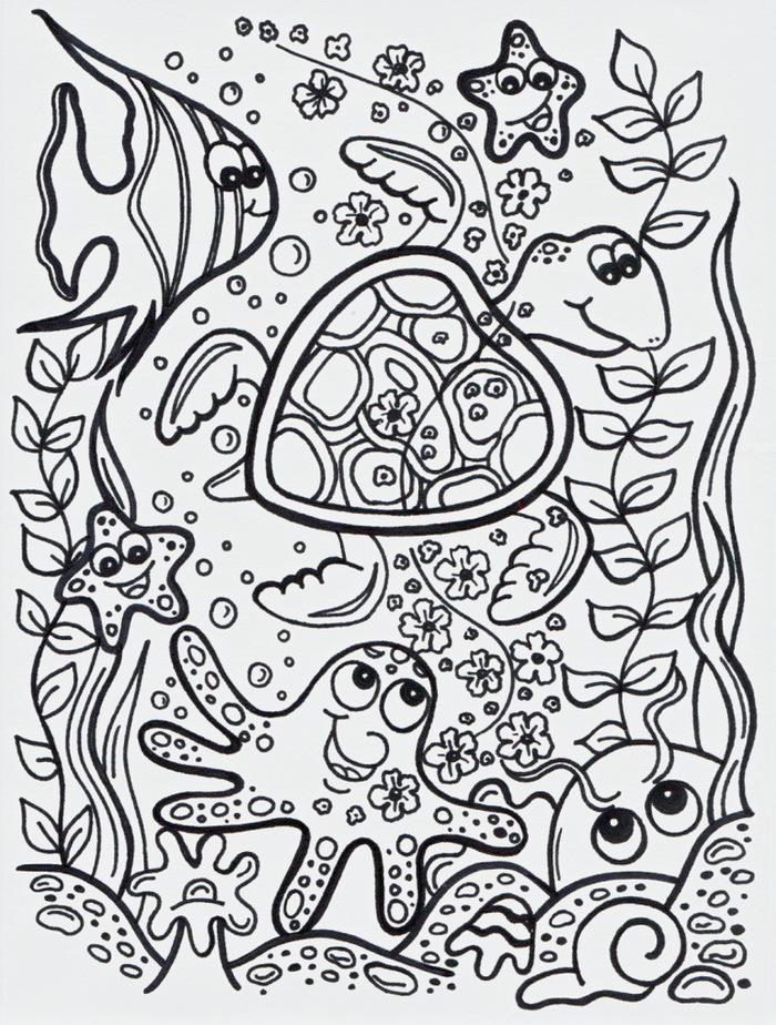 Морская звезда картинки для детей