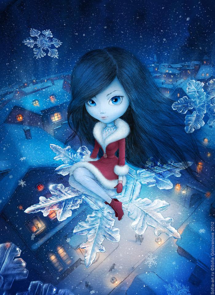 моя картинка на аватарку снежинки каждый день, особенно