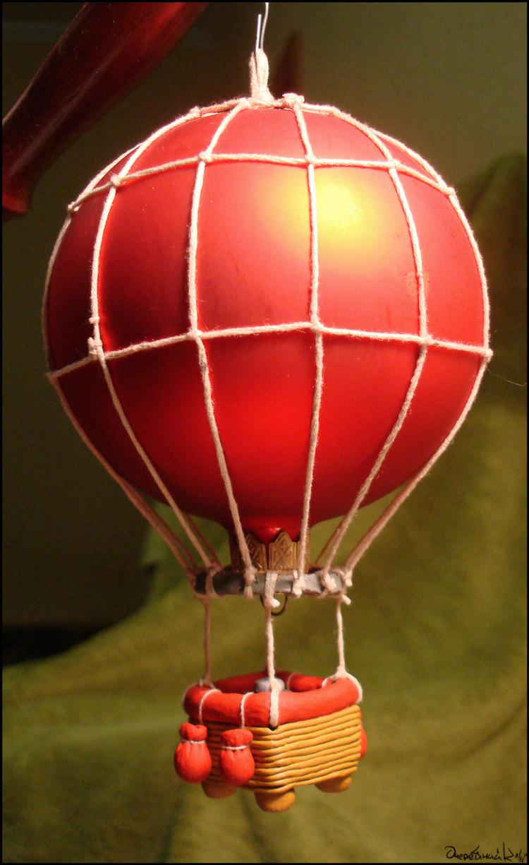 Как сделать воздушный шар фото