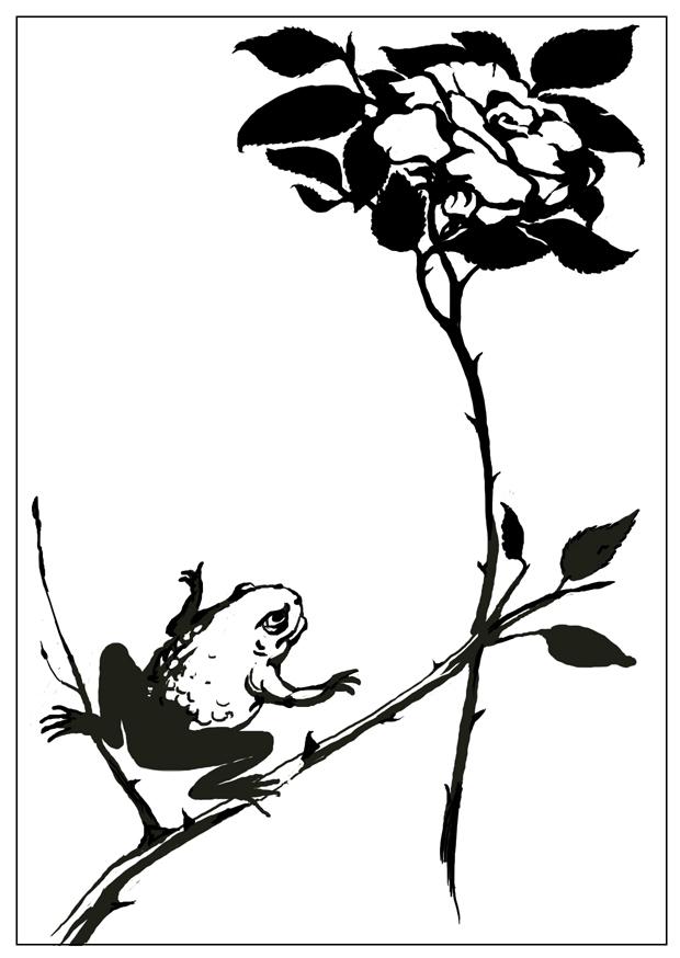 Гаршин. жаба и роза