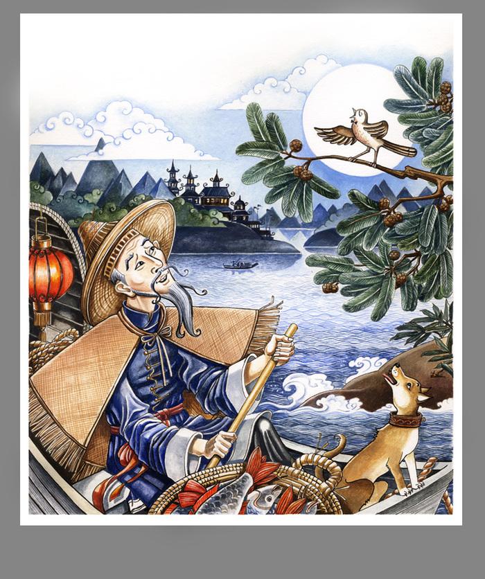 картинки из сказок андерсена соловей время пезады лошадь