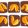 с предсказанием рисунок печенье