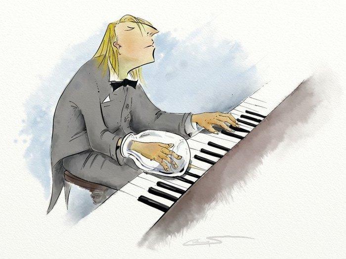 Смешные картинки пианисты