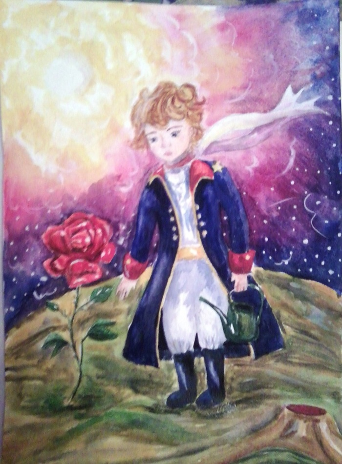 иллюстрации к произведению маленький принц сколько зарабатываешь куда