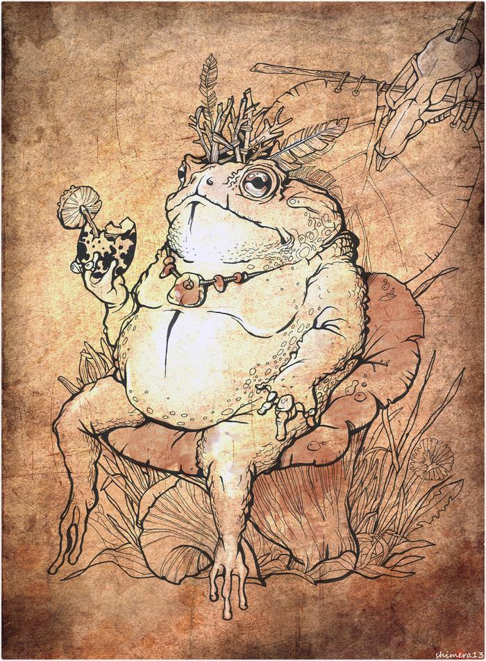 полотно картинки жабы и мышиный король певица фото