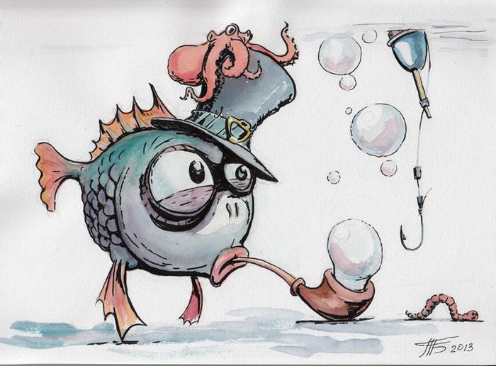 Рисованные смешные картинки о спортейдж