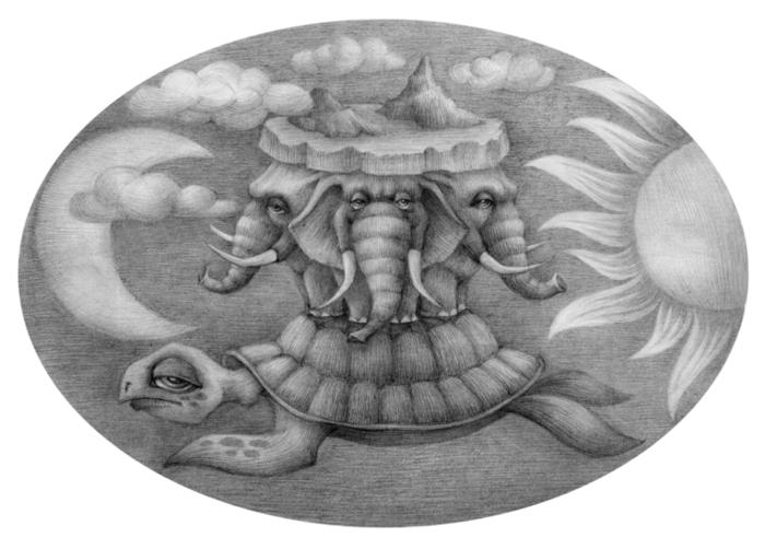 плоская земля картинки со слонами европейской культуре именно