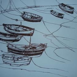 графика лодки