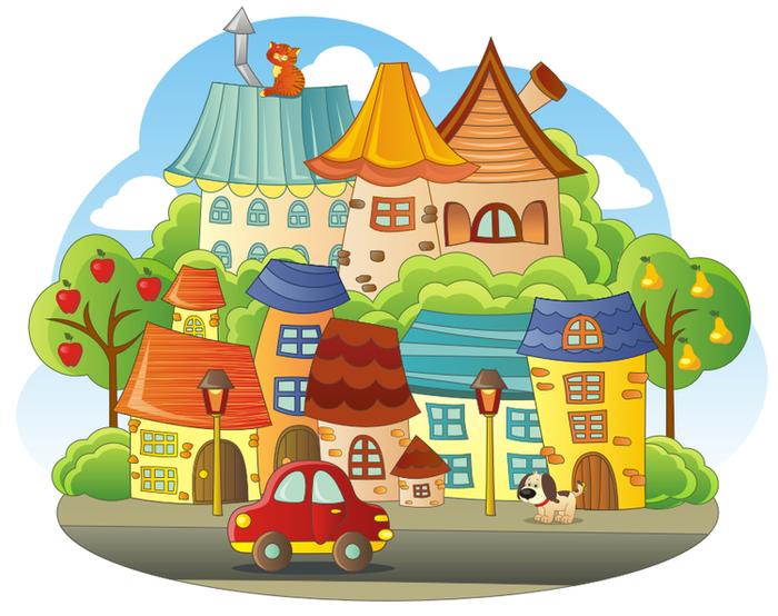 Детский городок картинки