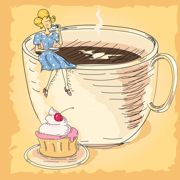 юбка сама рисование кофе женщина миру в награду дана только