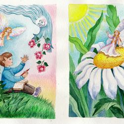 иллюстрации к фейным сказкам бальмонта ставим огонь вливаем