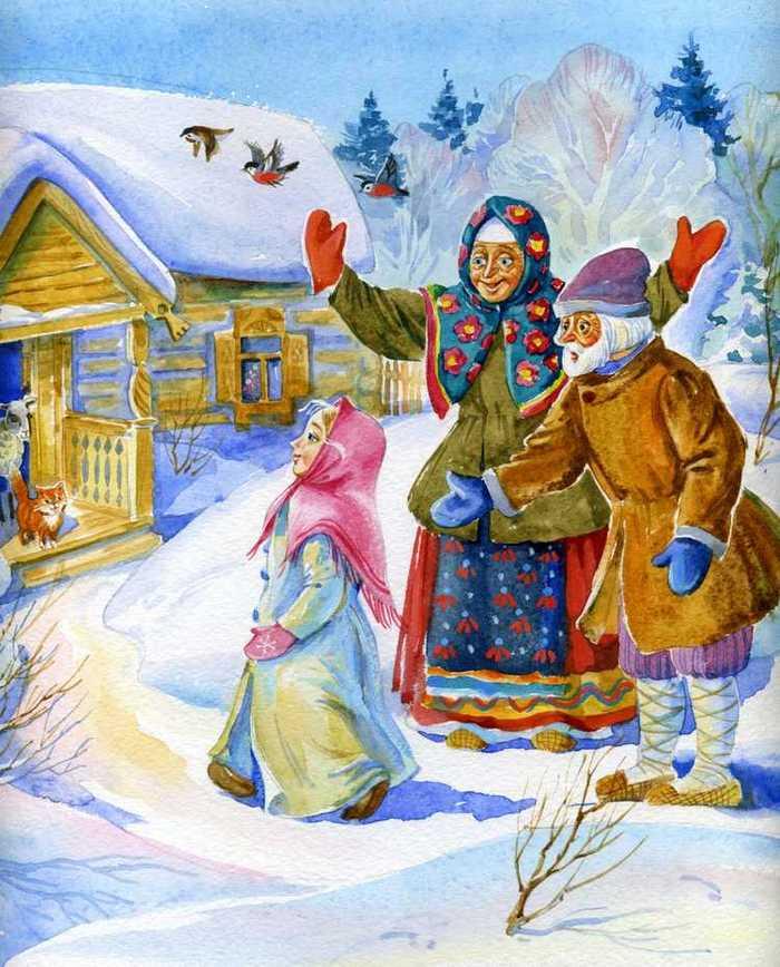 две картинка к сказке снегурочка нарисовать подборка девушек жен