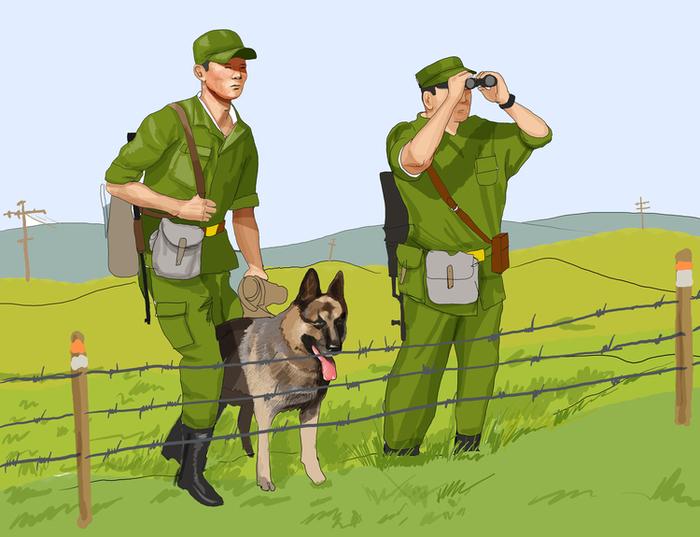 День пограничника картинка с собакой, днем крестника картинки