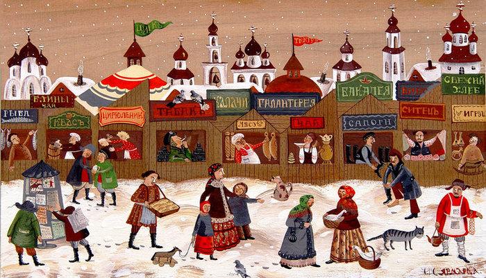 35 зимняя русская ярмарка