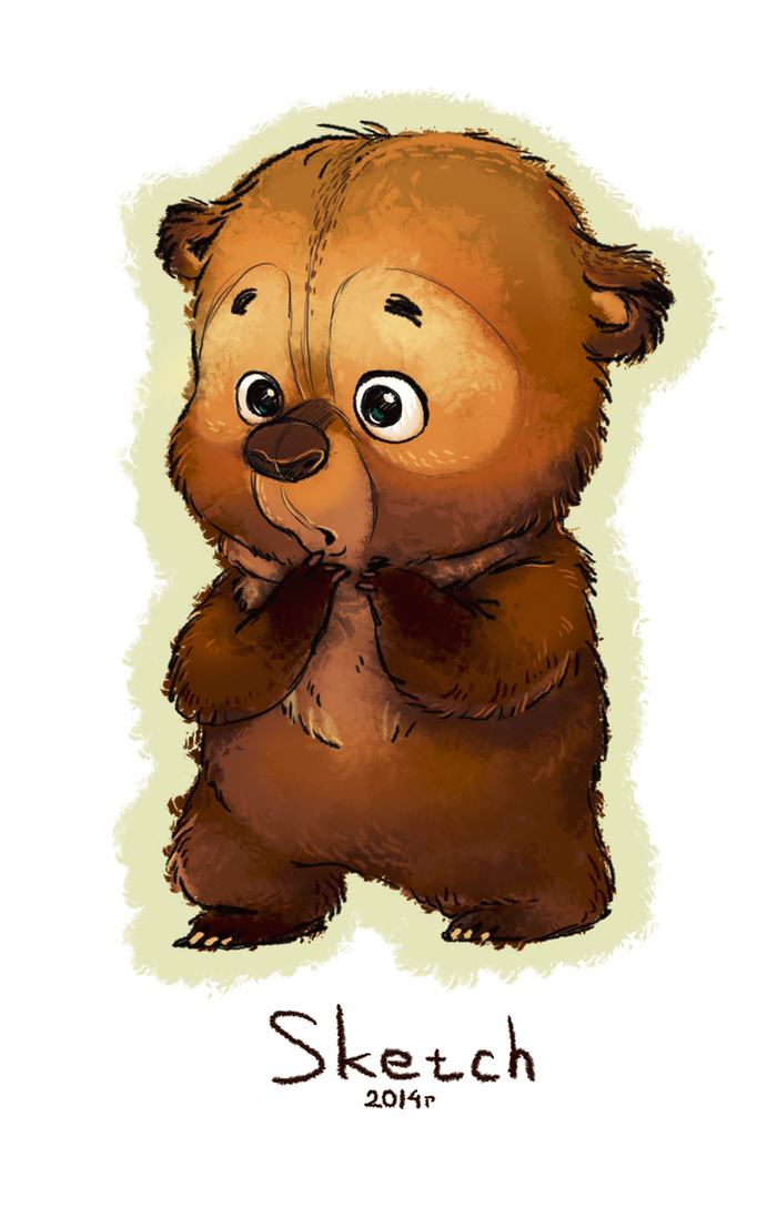 Смешные медведи картинки рисованные, сессии картинки поздравлениями