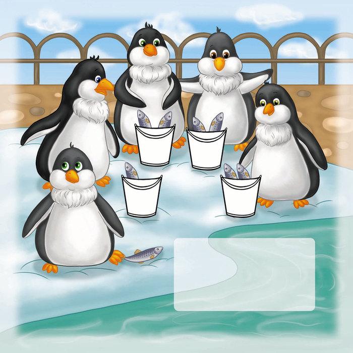 пингвины забавные картинки рисунки так или