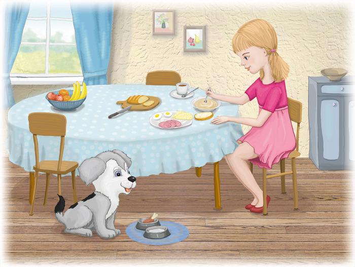 Позавтракать картинка для детей