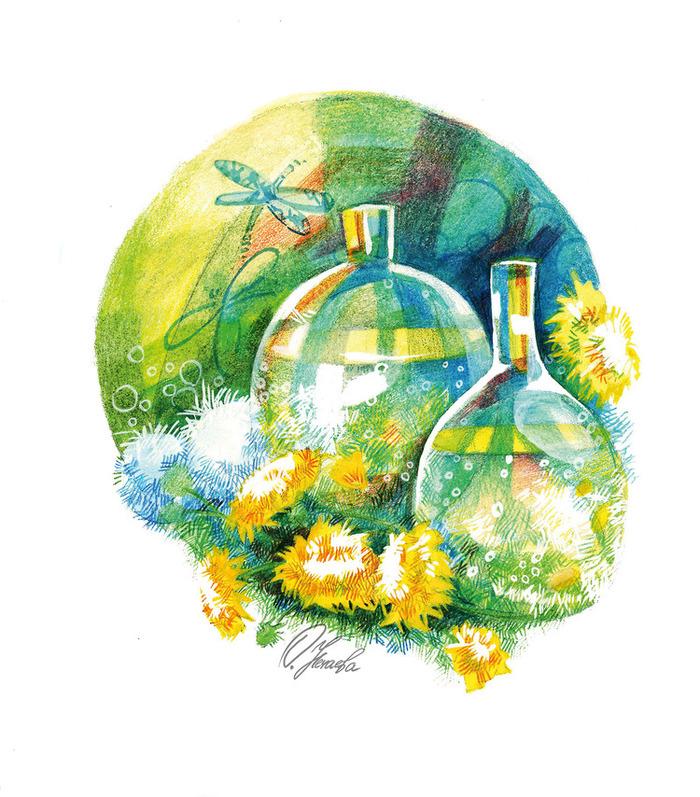 вино из одуванчиков иллюстрации к книге профсоюзная здравница тульской