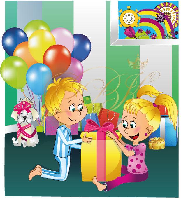 Картинки с днем рождения двойняшек мальчика и девочку 3 года, настольная открытка