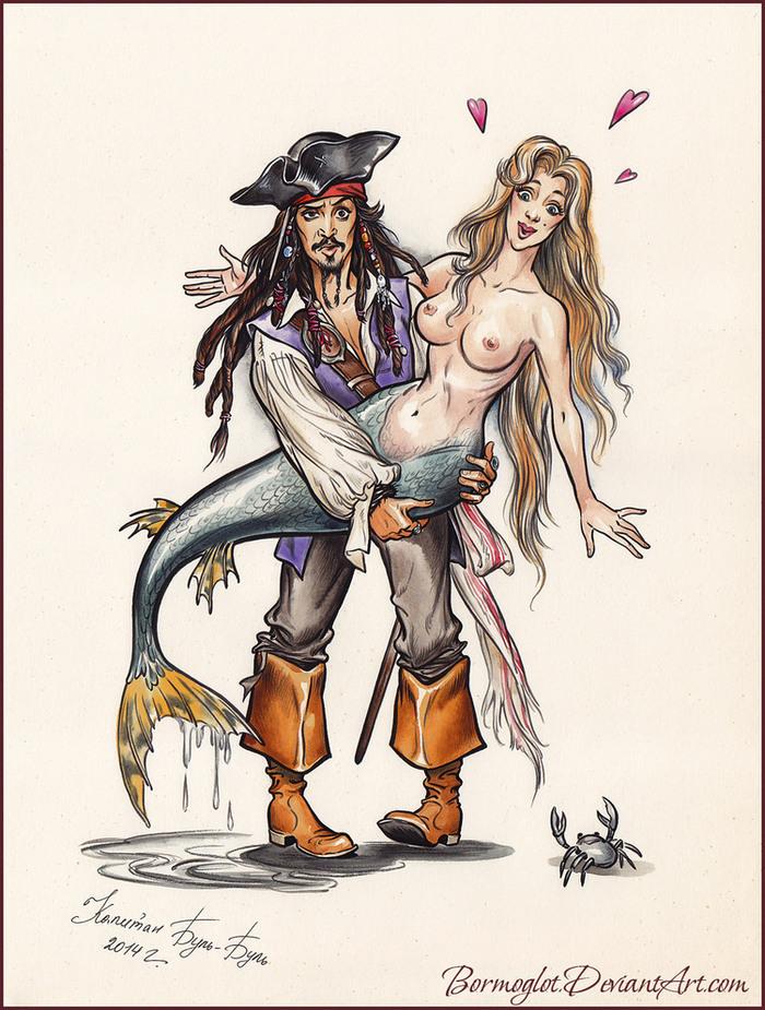 Пираты карибского моря комикс 1 фотография