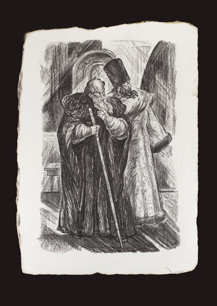 иллюстрации к борису годунову пушкина суриков перов прежнему