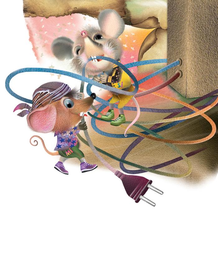 Жизнь мышки в картинках
