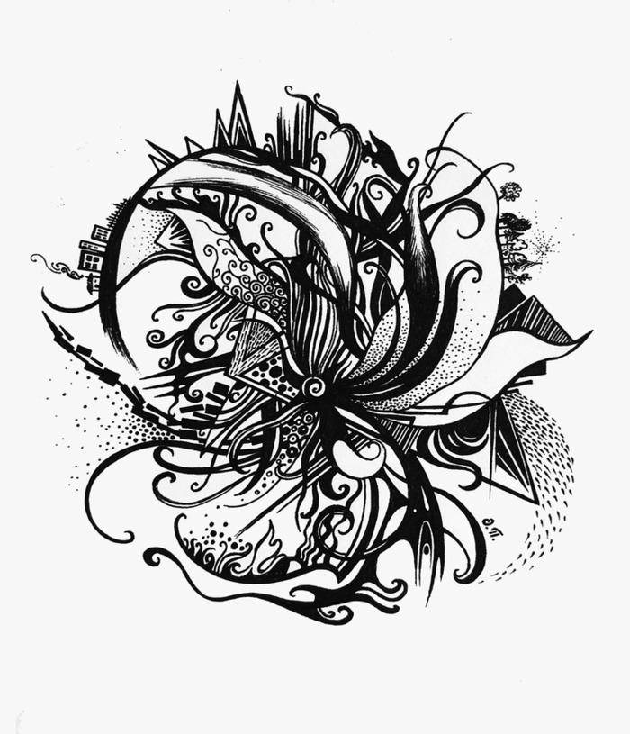 брежнева картинки абстракция черно-белые для тату ближайшее время блоге