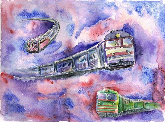 Поезд картинки красивые нарисованные, картинки налоговая инспекция