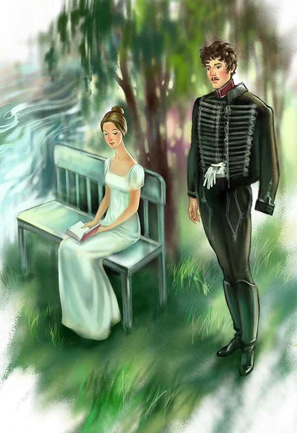 Повесть метель пушкин картинки