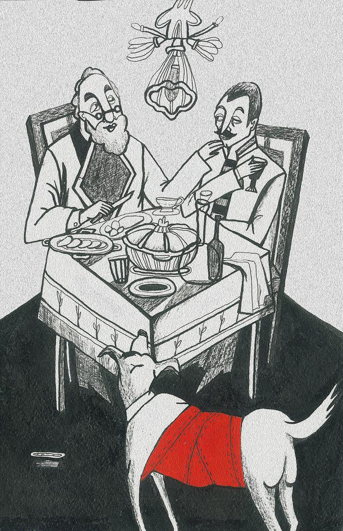 девушки иллюстрации к произведениям булгакова советуем ловить рыбу